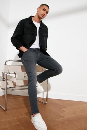 TRENDYOL MAN Antrasit Erkek Slim Fit Jeans TMNSS21JE0068 2