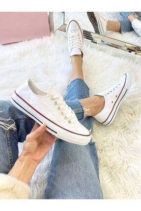 ELSESHOES Unısex Beyaz Spor Ayakkabı 0