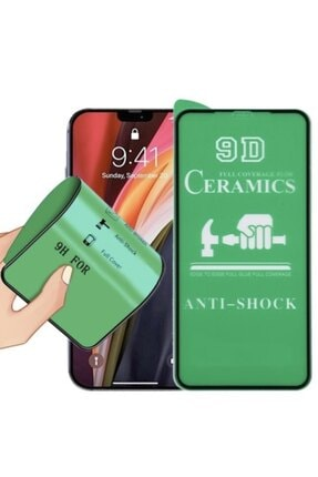 TEKNOPARKTA Iphone Xs Max Seramik Nano Esnek Tam Full Kaplayan Kırılmaz Cam Ekran Koruyucu 0