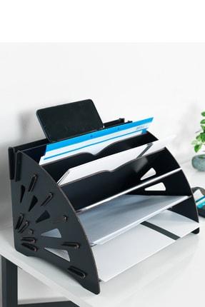 KUK Design Delcia Modern Pratik Ofis Masaüstü Organizer Düzenleyici A4 Evrak Rafı 0