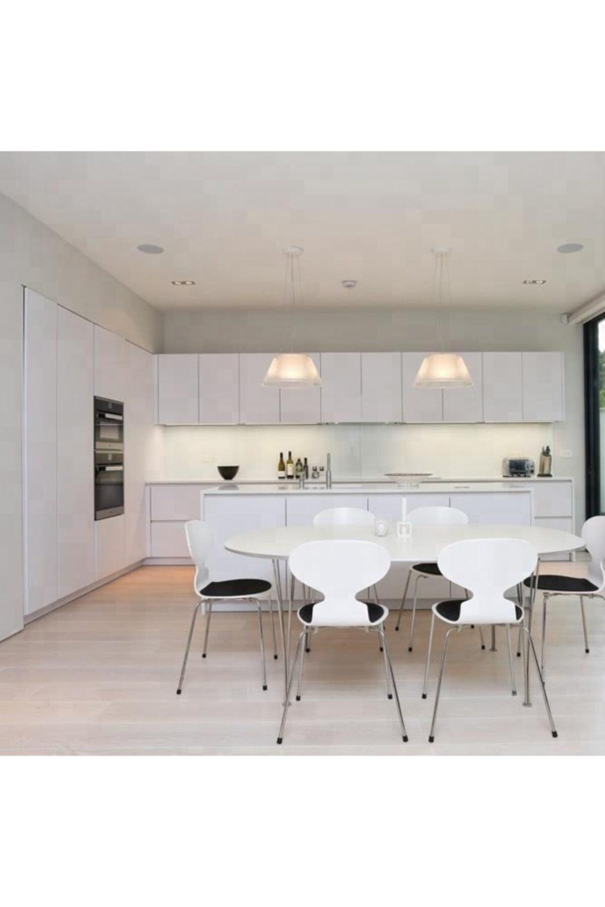 Parlak Beyaz Folyo - Dolap Kaplama Folyosu 50 Cm X 3 Metre