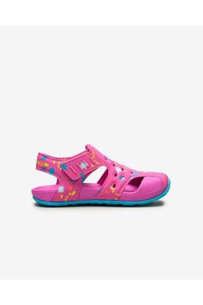 Skechers SIDE WAVE - Küçük Kız Çocuk Pembe Sandalet 1