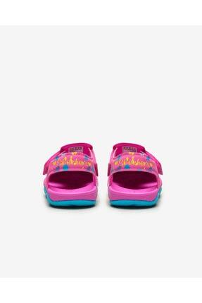 Skechers SIDE WAVE - Küçük Kız Çocuk Pembe Sandalet 3