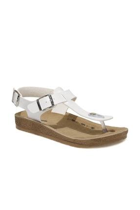 Polaris 400075.Z1FX Beyaz Kadın Sandalet 101020744 0