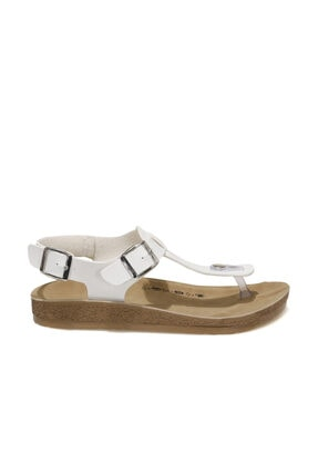 Polaris 400075.Z1FX Beyaz Kadın Sandalet 101020744 1