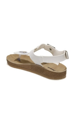Polaris 400075.Z1FX Beyaz Kadın Sandalet 101020744 2
