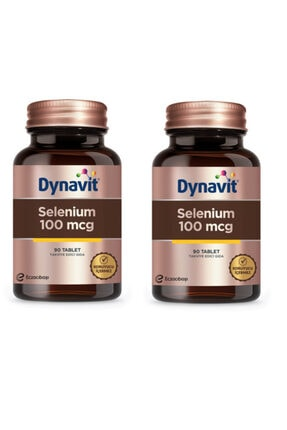 Dynavit Selenium 100mcg 90 Tablet - 2 Adet 0