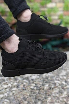Riccon Erkek Siyah Sneaker 00121925 0