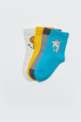 LC Waikiki Erkek Bebek Kar Melanj 847 Çorap 0