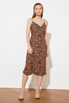 TRENDYOLMİLLA Çok Renkli Askılı Elbise TWOSS19EL0172 1