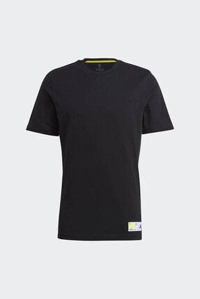 adidas Erkek Siyah Günlük T-shirt 3