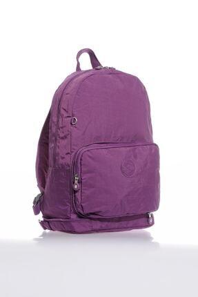 Smart Bags Smb3080-0027 Mor Kadın Katlanabilir Sırt Çantası 1