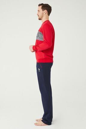 US Polo Assn U.s. Polo Assn. Erkek Pijama Takımı 18376 1