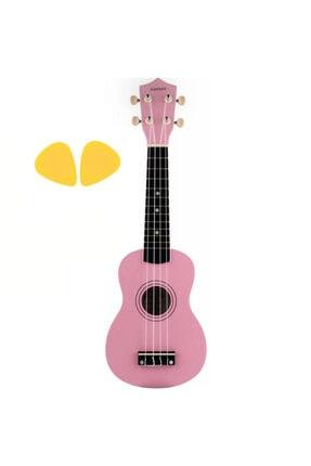 Andres Hobicadde Soprano Ukulele Ve Pena  Pink56 0