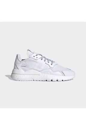adidas Erkek Beyaz Nite Jogger Günlük Spor Ayakkabı 0