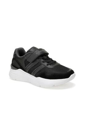 Kinetix Santa J Erkek Çocuk Cırtlı Yüksek Taban Spor Ayakkabı Siyah 0