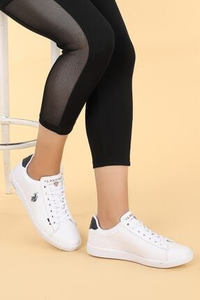 US Polo Assn FRANCO Beyaz Kadın Sneaker 100249587 2