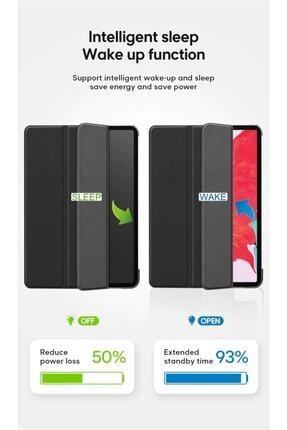 "MOBAX Apple Ipad 8.nesil 10.2"" Uyumlu Pu Deri Smart Case Siyah Kılıf A2270 A2428 A2429 A2430 2"