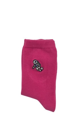 Bequeme Uzay Astronot Desenli Nakışlı Kokulu Renkli Çorap 6'lı 2