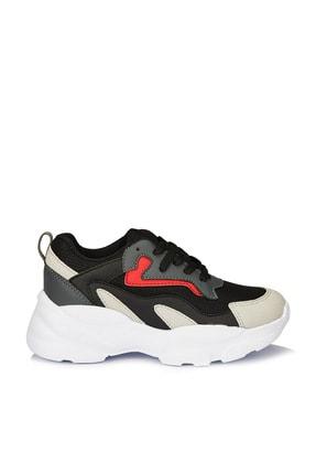 Vicco Nila Unisex Çocuk Siyah Spor Ayakkabı 2