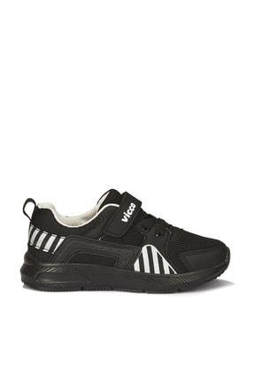 Vicco Unisex Çocuk Siyah/beyaz Weston Spor Ayakkabı 1