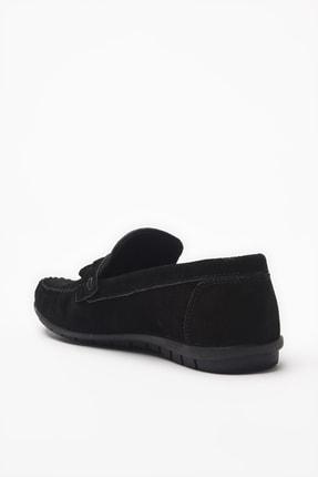 Hotiç Hakiki Deri Siyah Loafer Ayakkabı 02AYH206200A100 2