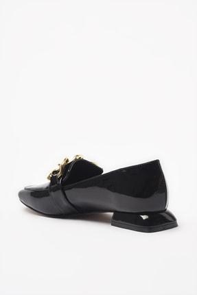 Yaya by Hotiç Siyah Kadın Loafer Ayakkabı 01AYY206450A100 3