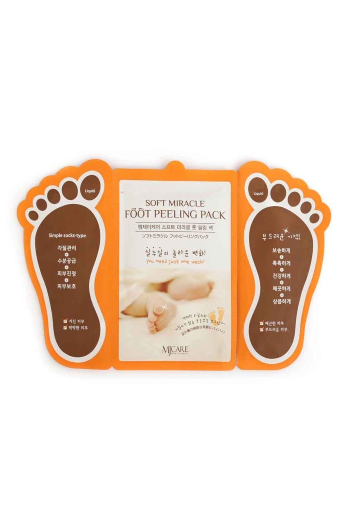 Miracle Foot Peeling Pack - Mjcare Çorap Tipi Ayak Peeling Maskesi