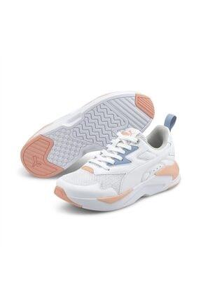 Puma X-RAY LITE JR Beyaz Erkek Çocuk Sneaker Ayakkabı 101085493 2