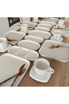 Seha Beyaz Seri Kahvaltı Takımı 0