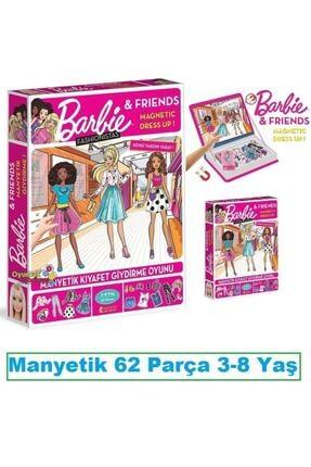 Diytoy Barbie Fashionistas Manyetik Kıyafet Giydirme Oyunu 62 Parça 1