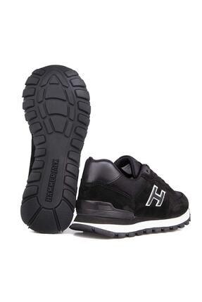 Hammer Jack Erkek Siyah Hakiki Deri Ayakkabı 1