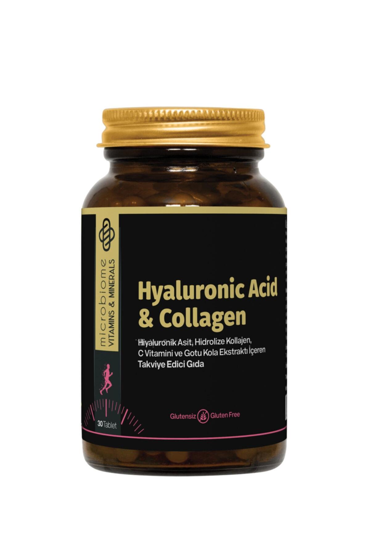 Collagen & Hyaluronıc Acid 30 Tablet