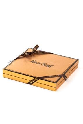 Hacı Şerif Yılbaşı Hediyesi Çikolatası 32 Madlen Çikolata Gold Kutu 3