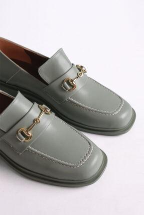 Marjin Races Kadın Loafer Ayakkabıyeşil 2
