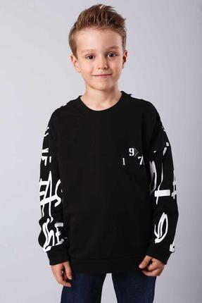 Pattaya Kids Erkek Çocuk Sweatshirt 9-15 Yaş Mb2811 0