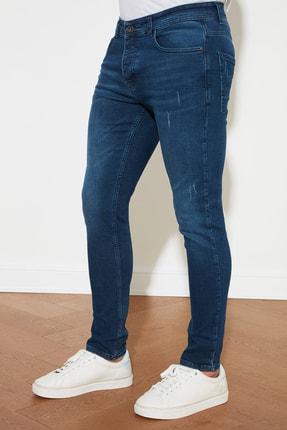 TRENDYOL MAN Mavi Erkek Skinny Jeans TMNAW20JE0403 3
