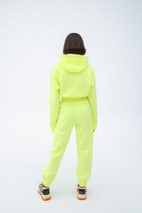 Fineapple Neon Sarı Eşofman Alt 3