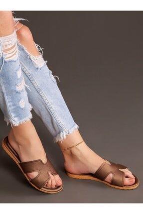 ayakkabıhavuzu Kadın Bakır Terlik 3