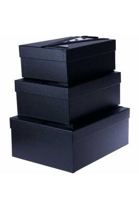 Duru Çeyiz Sandıkları Siyah Smokin Modelli Damat Kutu 2