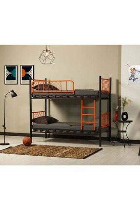 ARGİMO Ranza Metis 90x190 Genç Çocuk Yatak Odası Metal Ranza Ve Karyola 0