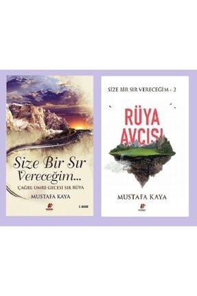 Fenomen Kitap Mustafa Kaya Size Bir Sır Vereceğim + Rüya Avcısı 2 Kitap 0