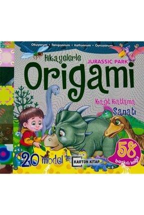 Hikayelerle Origami Kağıt Katlama Sanatı Jurassic Park KRTKLB-9786050693409