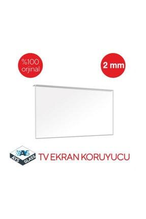 AYSGLASS 2mm 50'' Inch 127 Ekran Tv Uyumlu Ekran Koruyucu Tv Ekran Koruma Camı 1