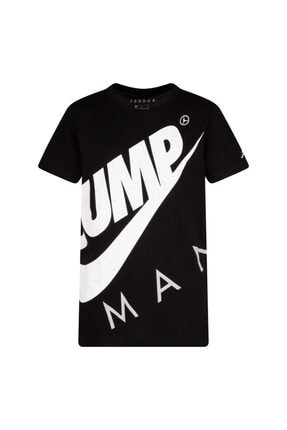 Nike Unisex Çocuk Siyah Jordan Jumpman Street Team  T-shırt 95A352-023 0