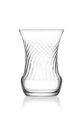 Lav İnci 6 Parça Çay Bardağı 0