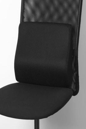 IKEA Bortberg Bel Yastığı Siyah 31x23 Cm 2