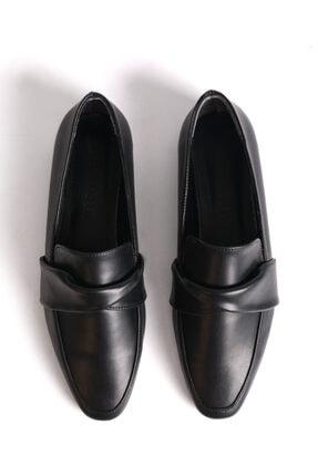 Marjin Dolinva Kadın Loafer Ayakkabısiyah 2
