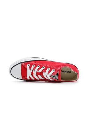 Converse Unisex Kırmızı Chuck Taylor All Star Sneaker 3