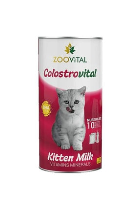 Zoovital Colostrovital Yavru Kedi Süt Tozu Ek Besin Takviyesi 200 gr 0
